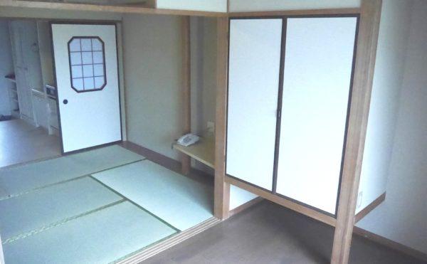 和室タイプの居室もあります