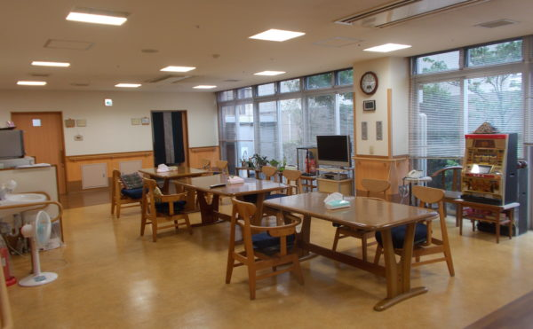 1Fの食堂です。