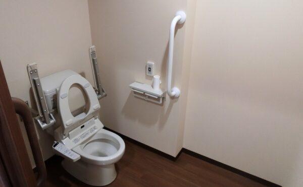 トイレ付きの居室です。