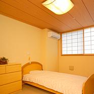 和風な作りの居室