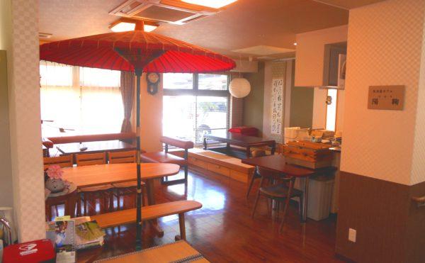 和なカフェスペース