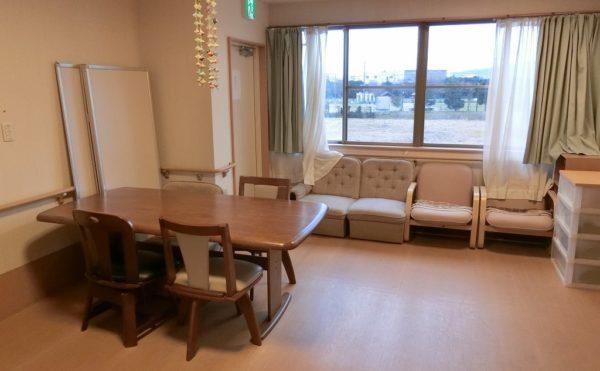 2階の談話スペースです。