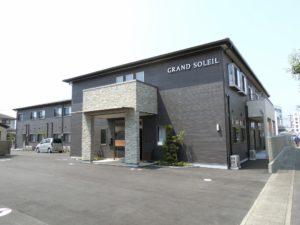 富士市にある住宅型有料老人ホームのGRAND SOLEILです。