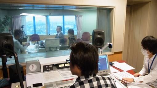 SBSラジオ 鉄崎幹人のWASABIでの収録の様子1