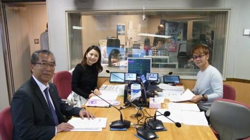 SBSラジオ 鉄崎幹人のWASABIでの収録の様子2