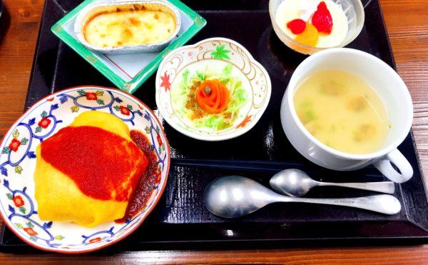 お誕生日会のお食事