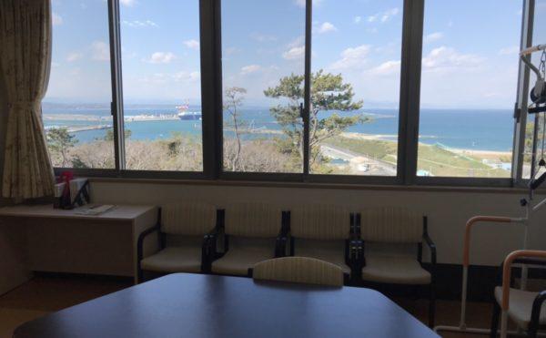 施設からの景色 太平洋を眺める空間が心地よいです。(ナーシングホーム静養館御前崎オーシャンビュー)