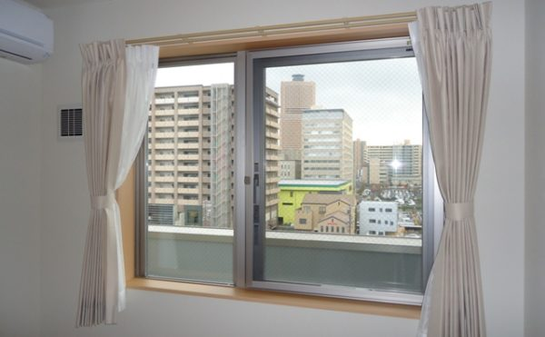 居室はすべて南向 居室は全室南向きで日当たりが良く明るく快適に過ごす事が出来ます。(杏林福祉サービスときわ)