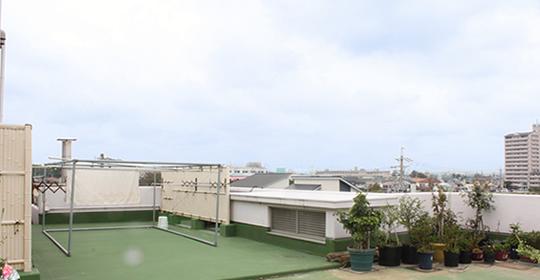 屋上 物干しスペース