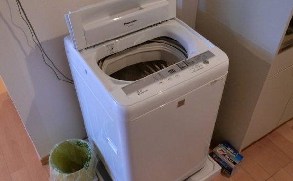 洗濯機スペース 居室内には洗濯機を配置出来るスペースがあり便利です。(サービス付き高齢者向け住宅らくじゅ沼津足高館)