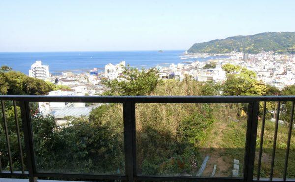 居室によっては素晴らしい景色が望めます。抜群の眺望で毎日を過ごすことが出来ます。(スカイテラス伊東)