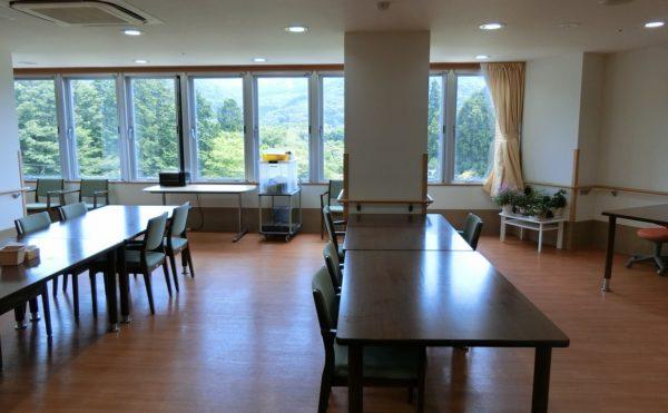 2階ラウンジです。1階とはまた違った景色が望めます。