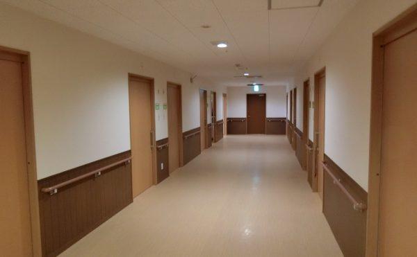 廊下も広々しています。