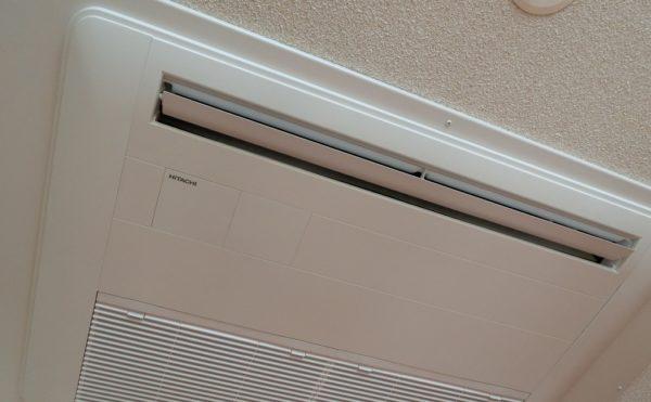 エアコン標準装備 各居室には天井埋め込みのエアコンが標準で装備され快適に過ごせます。(沼津ケアセンターそよ風)