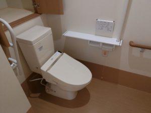 トイレもゆったりとしたスペースです