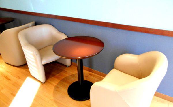 くつろぎコーナー②ゆったりとしたソファーで談笑することが出来る快適空間です。(プレミアムハートライフ千代田)