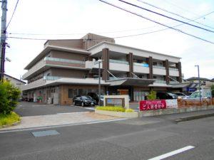 静岡市葵区にある介護付き有料老人ホームのグライフ北安東です。