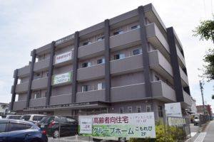 磐田市にあるサービス付高齢者向け住宅のレジデンス二之宮です。
