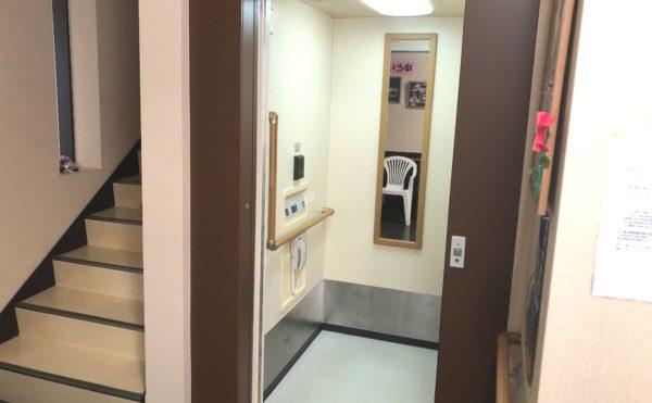 エレベーター 2階建施設ですがエレベーターが設置されて安心して移動する事が出来ます。(グループホームケアクオリティ ゆとりあ)