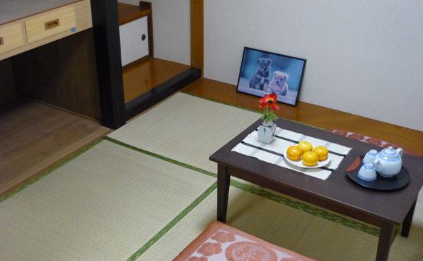 和室のあるお部屋もあります ※写真はモデルルームになります。床の間や畳が敷かれている落ち着いた空間です。(ベストライフ熱海)