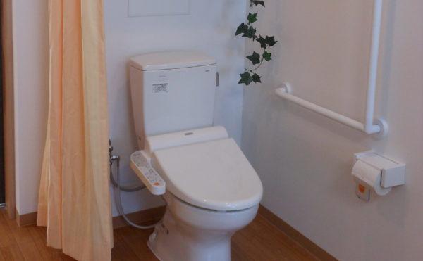 トイレ 居室内に一体スペースとしてトイレがあり、毎日安心して過ごす事が出来ます。(ベストライフ沼津2)