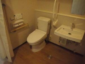居室のトイレ