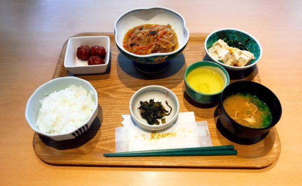 静岡県御殿場市の施設でお食事を頂きました。