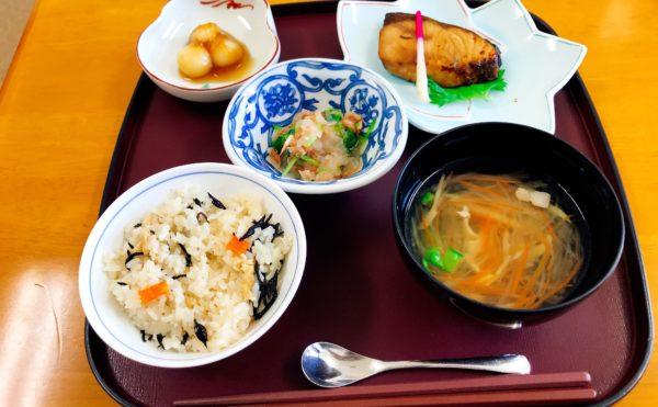 静岡県静岡市清水区の施設でお食事を頂きました