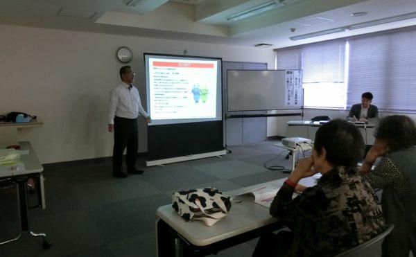 沼津市内の地域包括支援センターからのご依頼でセミナーを開催しました。