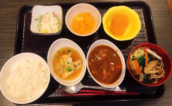 静岡市葵区の介護付き有料老人ホームでお食事を頂きました