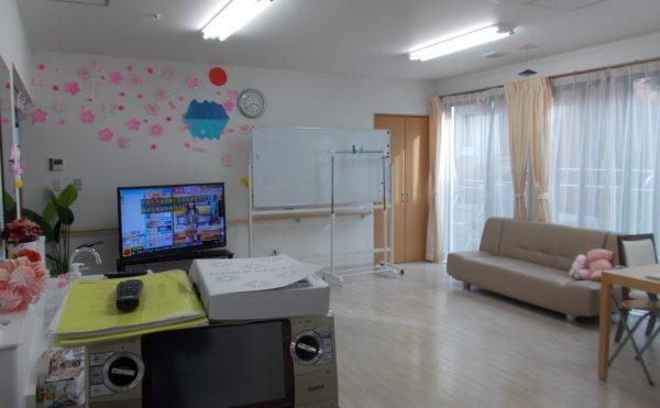 「ハートリンク焼津は壱番館と弐番館が同敷地内にあり、弐番館は認知症ケアに特化した施設です。