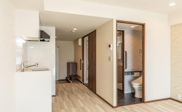 フルリフォームで新築同様のきれいなお部屋。