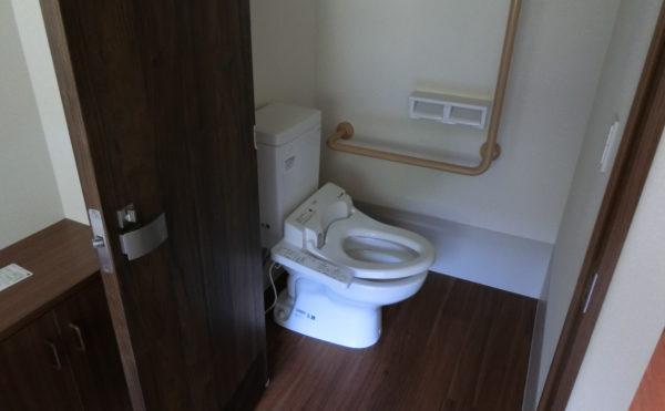 各居室にトイレ備えています。