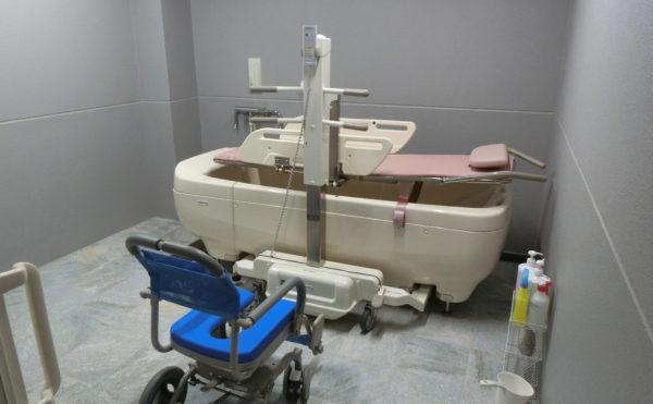 機械浴設備あります。