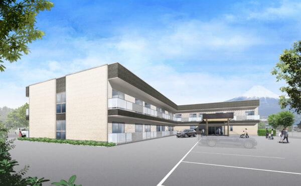 富士宮市野中に新しく介護施設(住宅型有料老人ホーム)がオープンします!