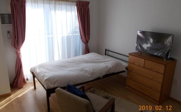 Bタイプ居室 家具家電は見本です。