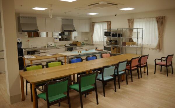 食堂兼レクスペースの共用部